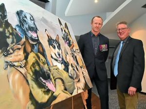 VC holder Donaldson happy to see dogs get their day