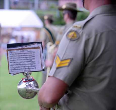 HIGH NOTE: Head to the Moncrieff tonight to hear the Australian Army Band.