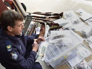 Drug raids across the city