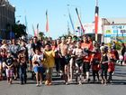 NAIDOC Parade, Rockhampton. Photo Allan Reinikka / The Morning Bulletin
