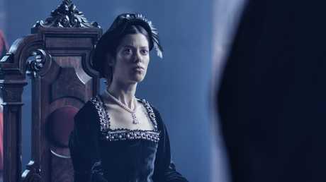Harriet Green portrays Queen Anne Boleyn in the documentary series The Six Queens of Henry VIII.