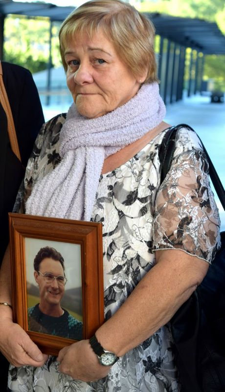 Toowoomba woman Marie Poxon was in Brisbane on Friday when the findings from her husband's inquest were handed down.Photo Pamela Frost