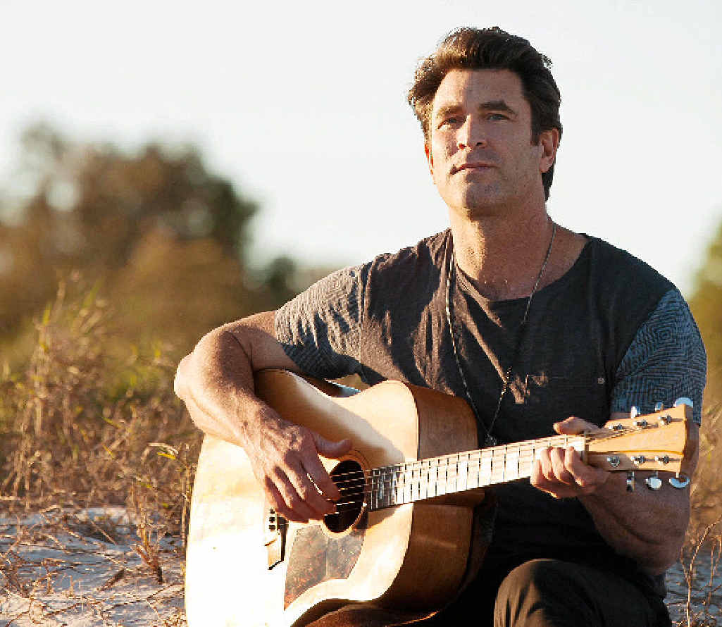 EXCITING: Pete Murray.