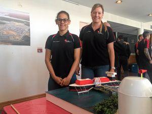 Santos job cuts on the horizon as trainees strut their stuff
