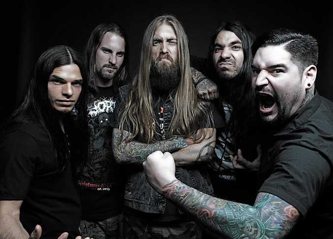 Suicide Silence vocalist Eddie Hermida is pumped to be heading to Australia. Photo Contributed