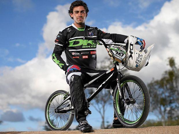 RIDING HIGH: Australian BMX rider Bodi Turner is heading to the Rio Olympics next month.
