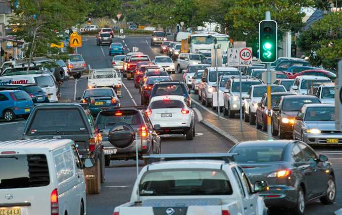 STANDSTILL: Driver patience has been tested due to heavy congestion through Coffs Harbour.