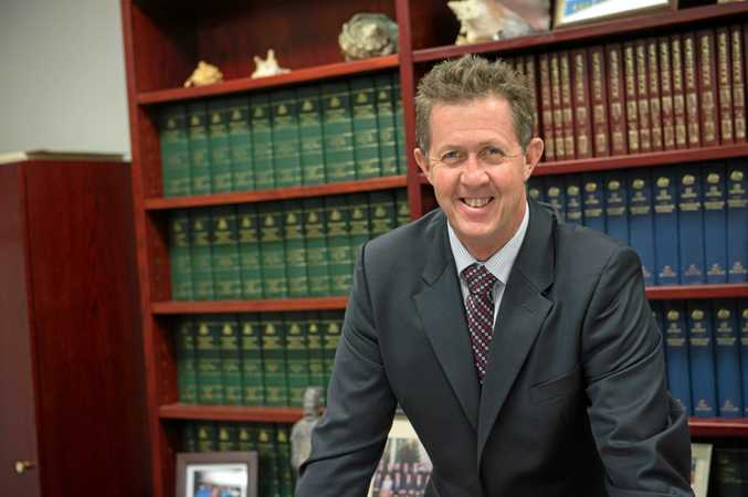 federal member for Cowper Luke Hartsuyker.01 April 2015Photo Trevor Veale / Coffs Coast Advocate