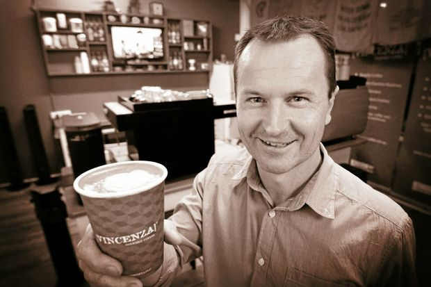 Craig Davis managing director of Vincenza Gourmet Coffee have now finished their new show room for barista training.