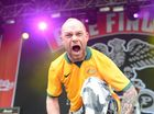 Five Finger Death Punch perform at Soundwave in Brisbane. Photo Contributed
