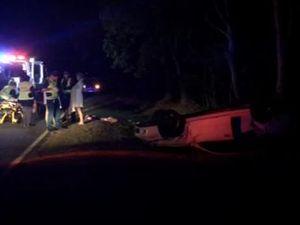 Car crash  at Innes Park
