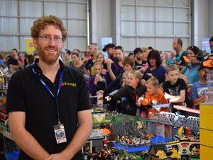 Thousands flock to Rockhampton Lego display