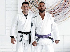 Man receives purple belt in Jiu-Jitsu after being paralysed