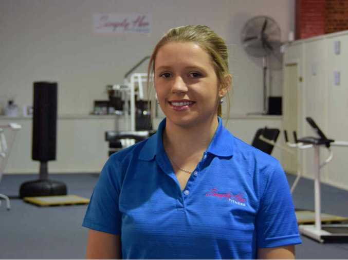 TAKING OVER: Christina Inslay has opened Simply Her Fitness, Rockhampton's only all-female gym.