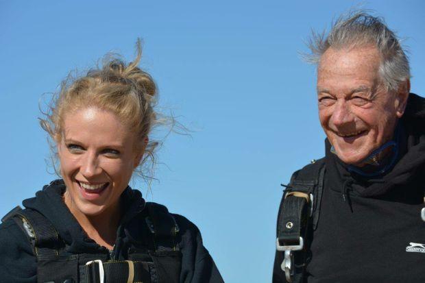 Ashleah Taylor and granddad Bob Sherwell share a special bond.