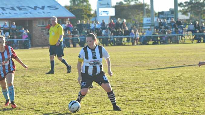 Bingera's Madelyn McCracken in charge at the weekend.