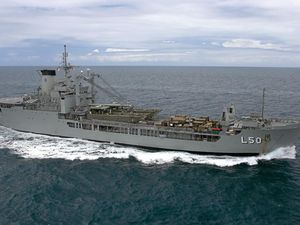 Turnbull win ignites bid to secure HMAS Tobruk