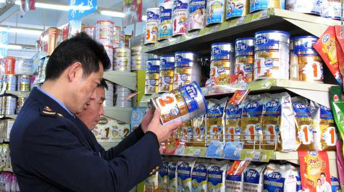Chinese shoppers are willing to pay high prices for baby formula.