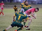 Red Ants Chris Holmes was a danger on the field, scoring four tries, in the Gayndah v Kingaroy A-grade game in Kingaroy on Saturday, July 9.