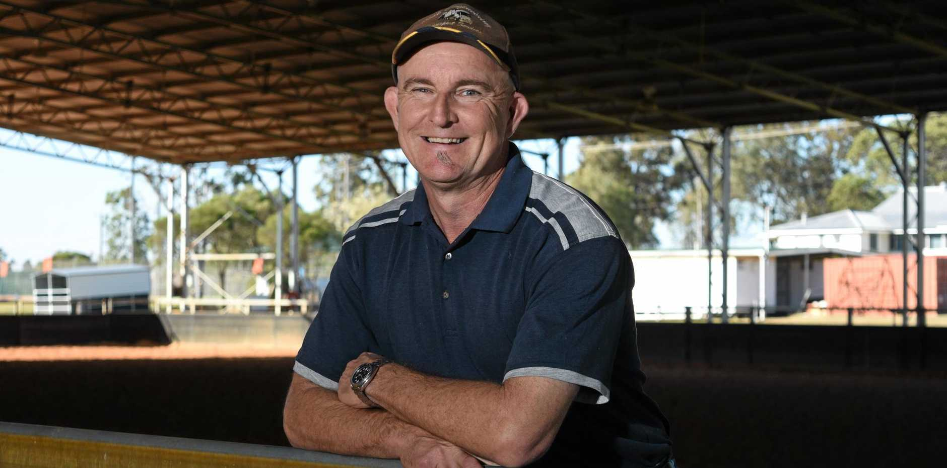 BIG PLANS: Lockyer Indoor Equestrian Centre Mark Saggers is welcoming proposed upgrades.