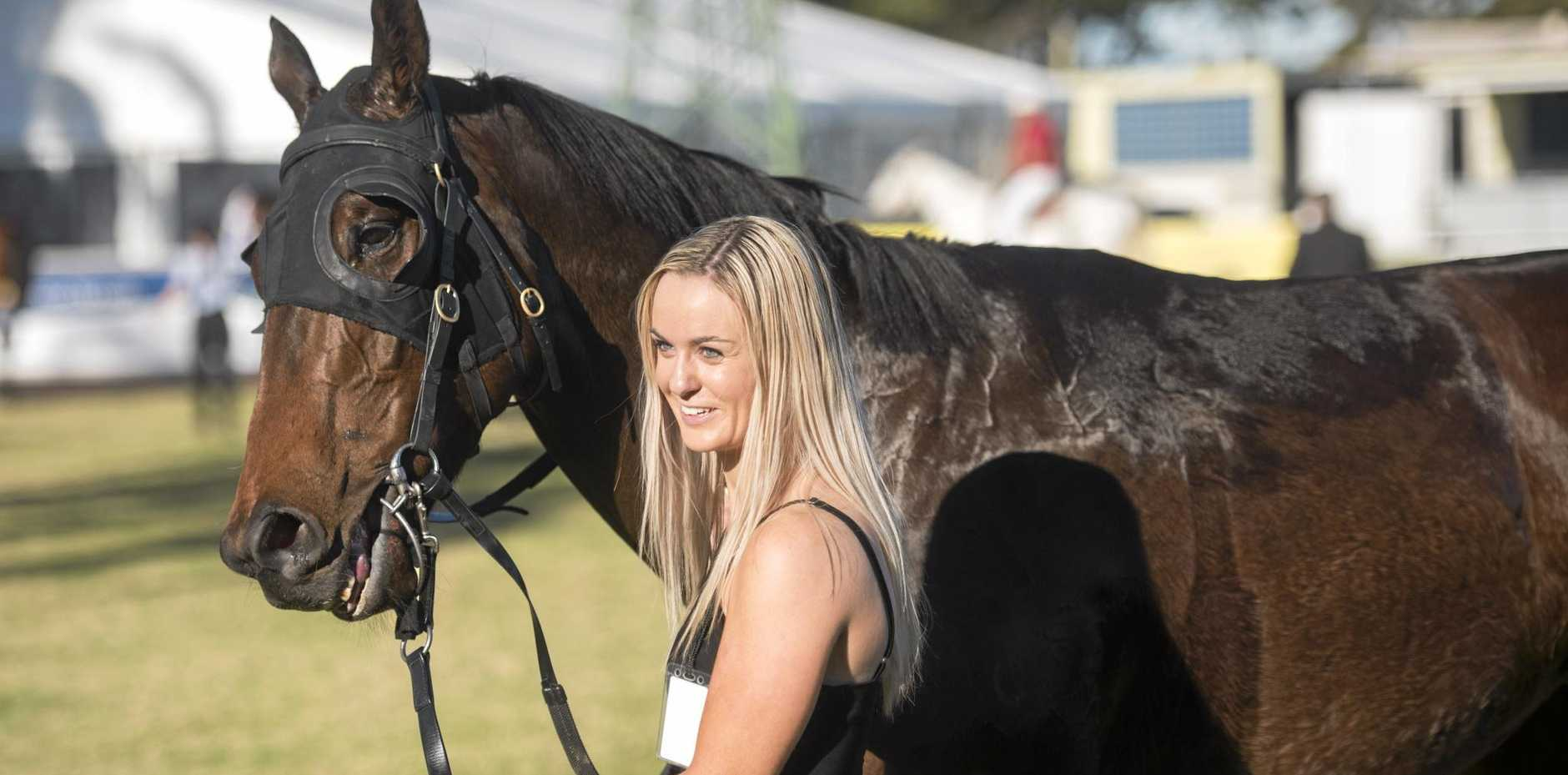 Coffs Harbour horse trainer Sally Taylor.