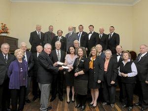 Masons add to growing donation tally