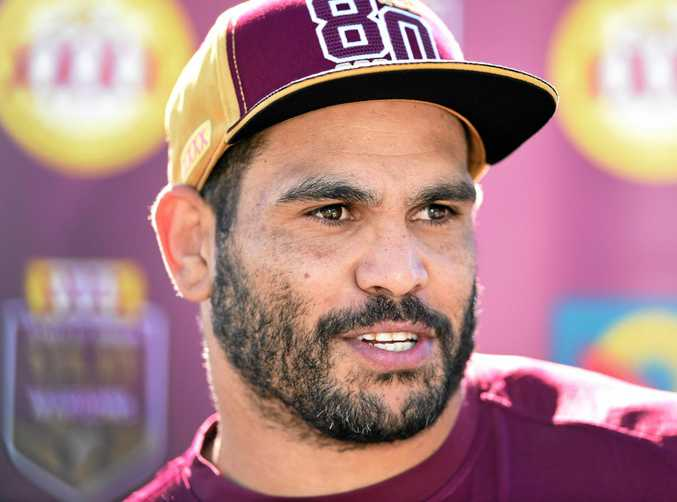 GREAT OF THE GAME: Queensland's Greg Inglis.