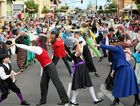Mary Poppins Festival - Mary Poppins: The Musical Cast Performance. Photo: Brendan Bufi / Fraser Coast Chronicle
