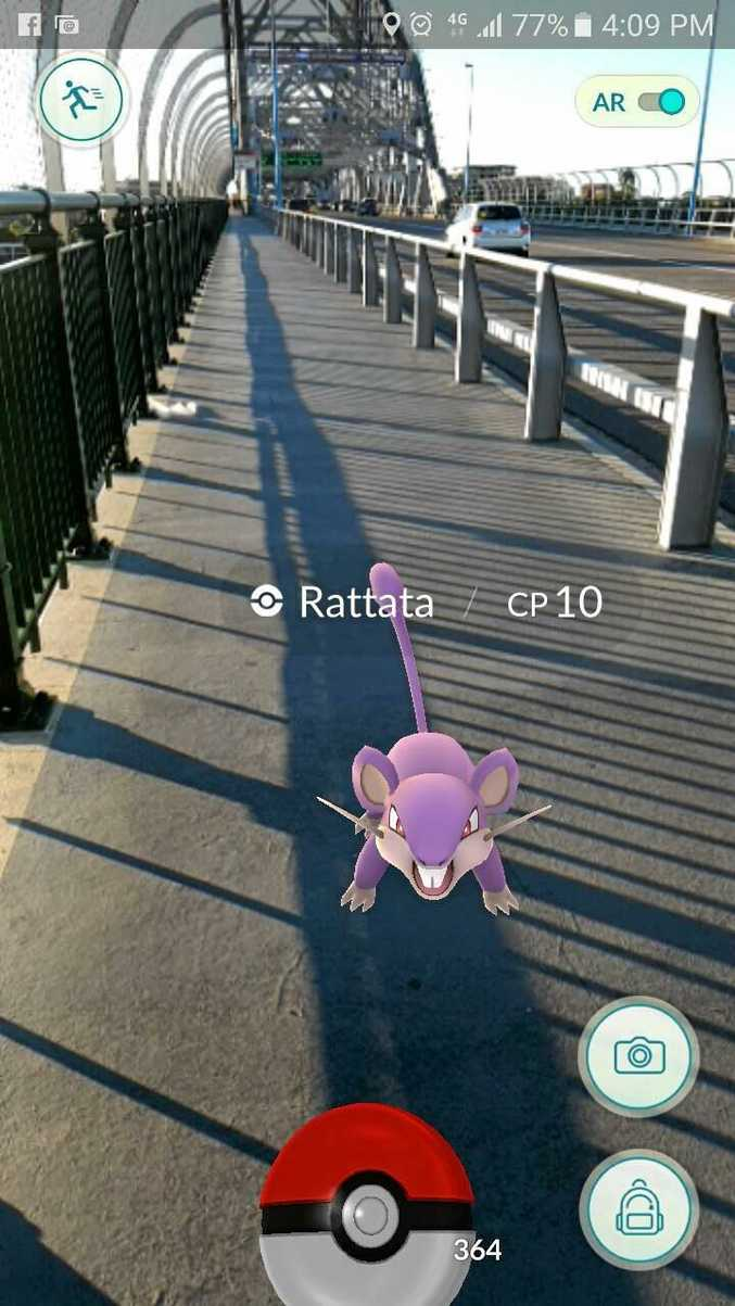 Using the augmented reality actually makes it a lot harder to capture the critters. Hit that AR button at the top to disable it.