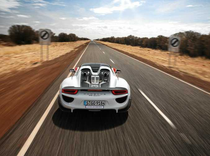 Car companies such as Porsche have returned to undertake testing since open speed limits were reintroduced on the Stuart Highway.