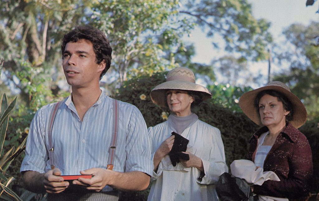 ACTION: A scene from the Australian movie The Mango Tree filmed here in Bundaberg in the 1970s. Photo: contributed