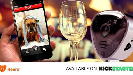 Heero allows you to monitor your pets, talk with your family and control any electrical devices from your phone.