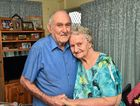 Nambour residents since 1974, 92 year old Thomas Dorrett with his wife Doreen 88 celebrate their 70th wedding anniversary on Wednesday, July 13.