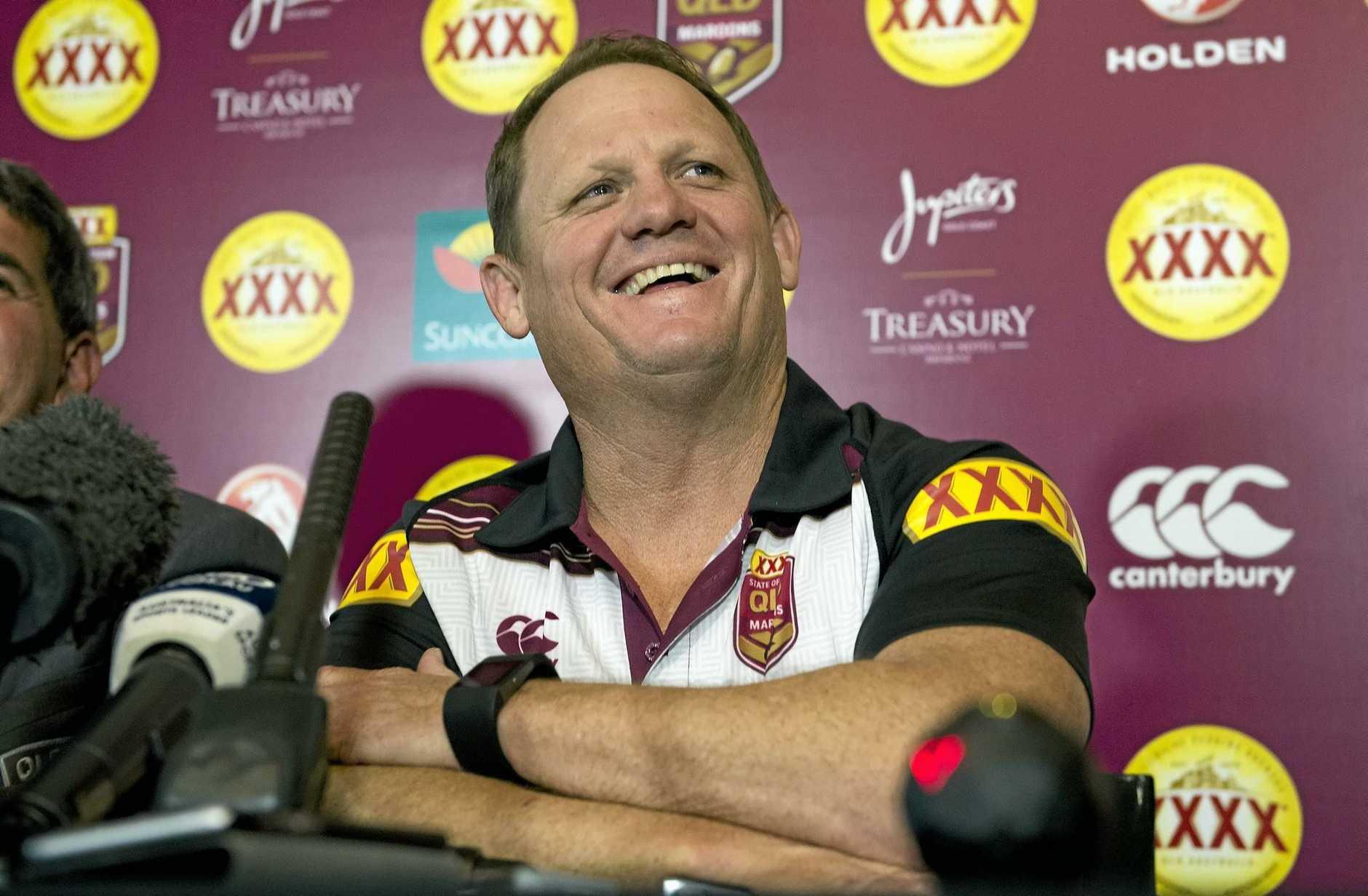 WINNING DEBUT: Queensland coach Kevin Walters.