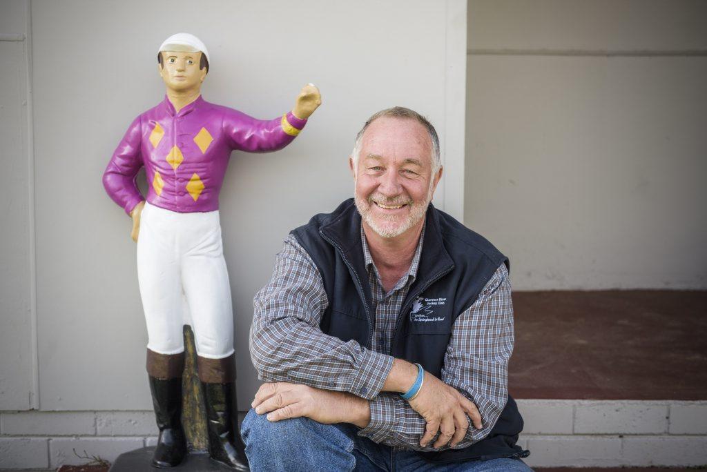 CEO of Clarence River Jockey Club Michael Beattie Photo Adam Hourigan / The Daily Examiner