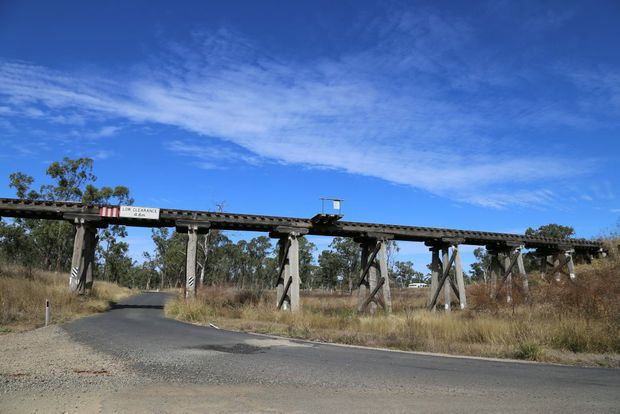 The Red Gully Bridge could be pulled down within the week.