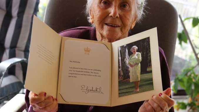 Ivy McKinlay celebrated her 100th Birthday on Tuesday.