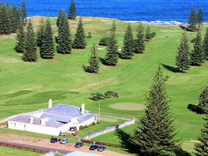 Norfolk Island golf course can be hell in paradise