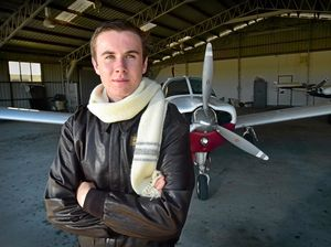 Teen pilot battles moments of doubt in record-making journey