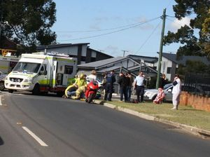 Man dies after crash at busy Toowoomba roundabout