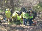 UPDATE: Weather and road did not play a part in rollover