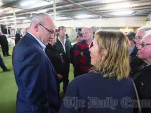 Opposition leader visits Grafton Greyhounds