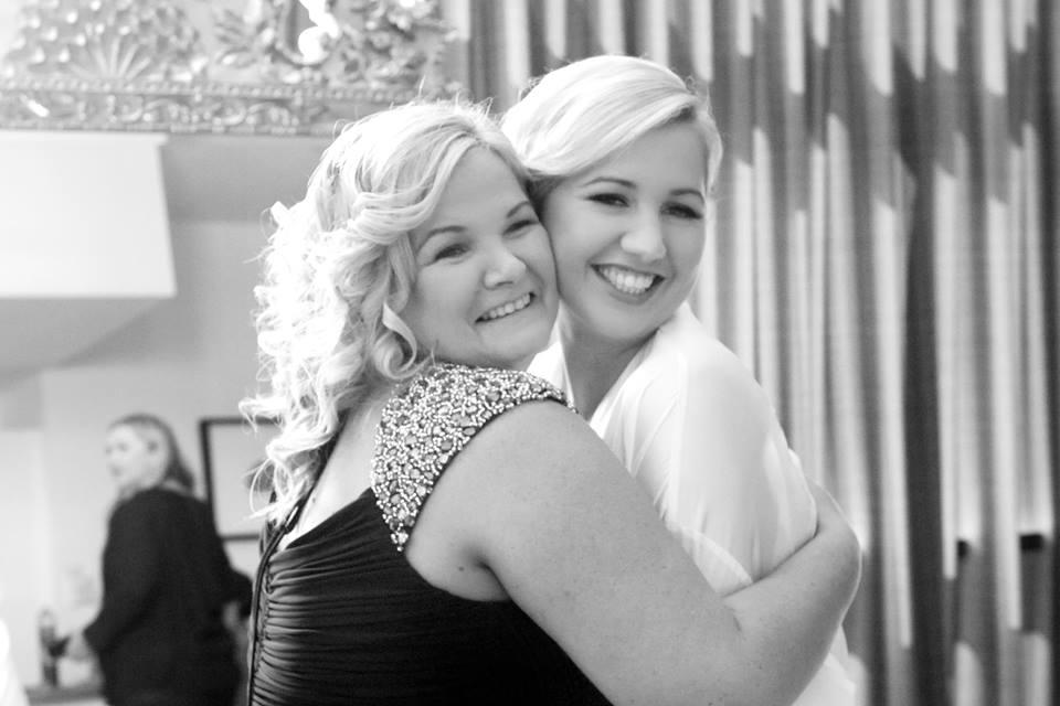Rebecca and her mum Katrina