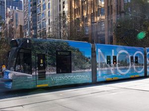 WATCH: Noosa tram is prepared for Melbourne's streets