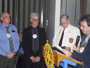 Rod returns as club president for Rockhampton North Rotary