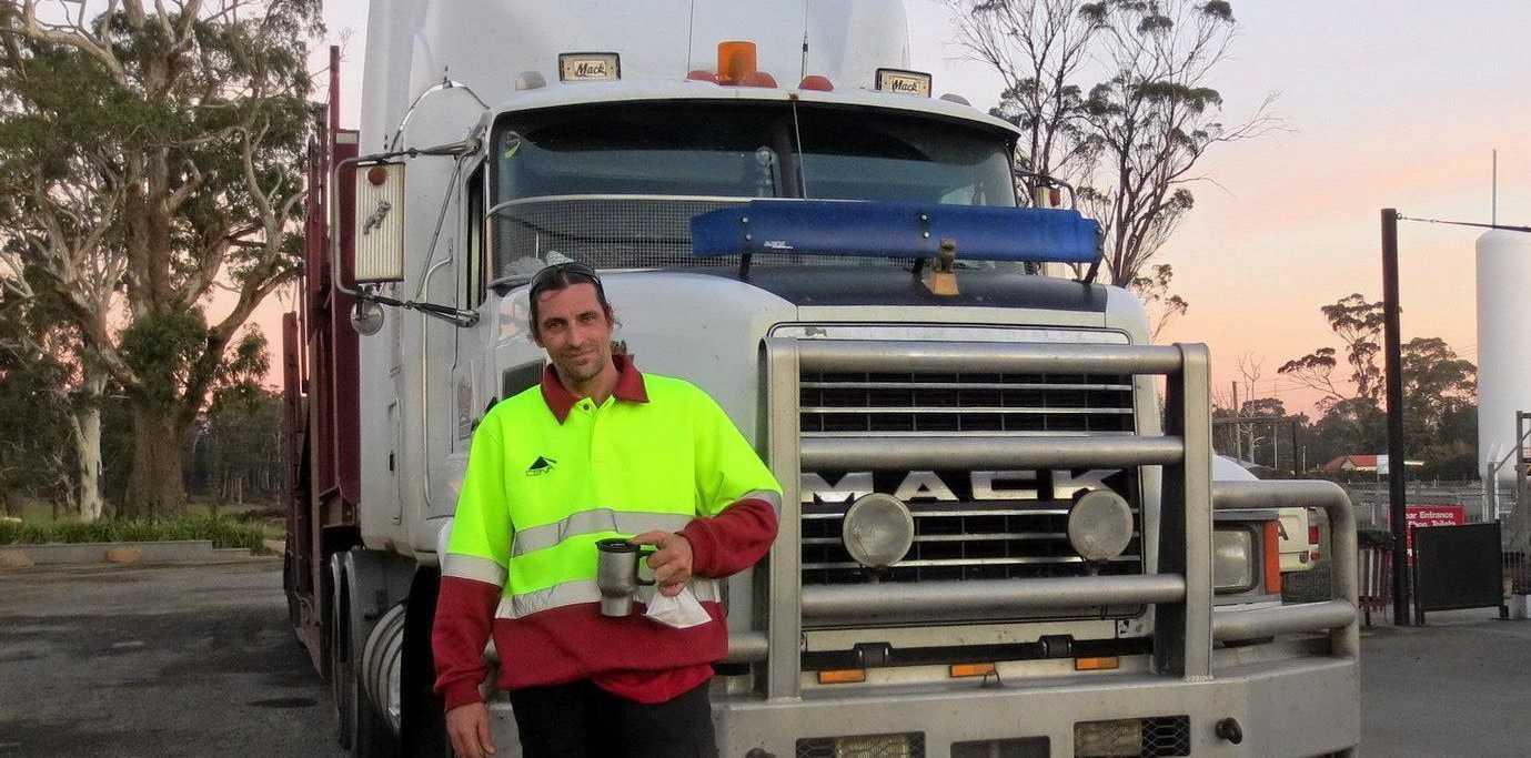 Tassie Truckin:  Scott Fahey.