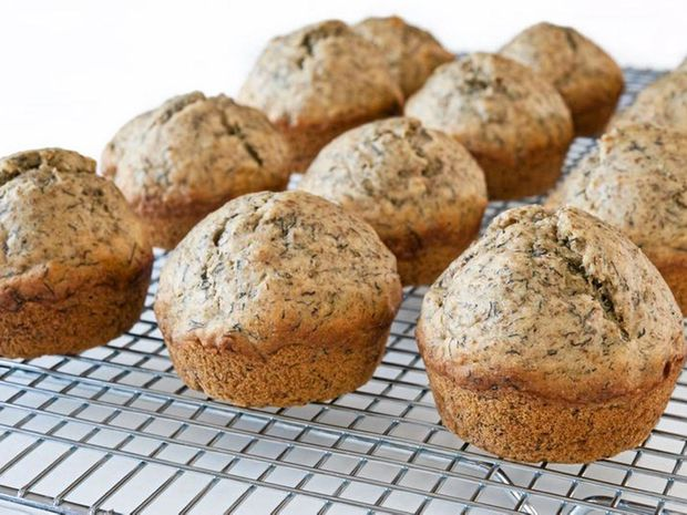 Muffin comes from the French word moufflet, used to describe soft bread.