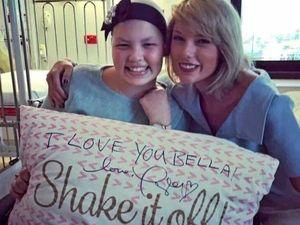 When Bella met Taylor: Battler sings praises of superstar