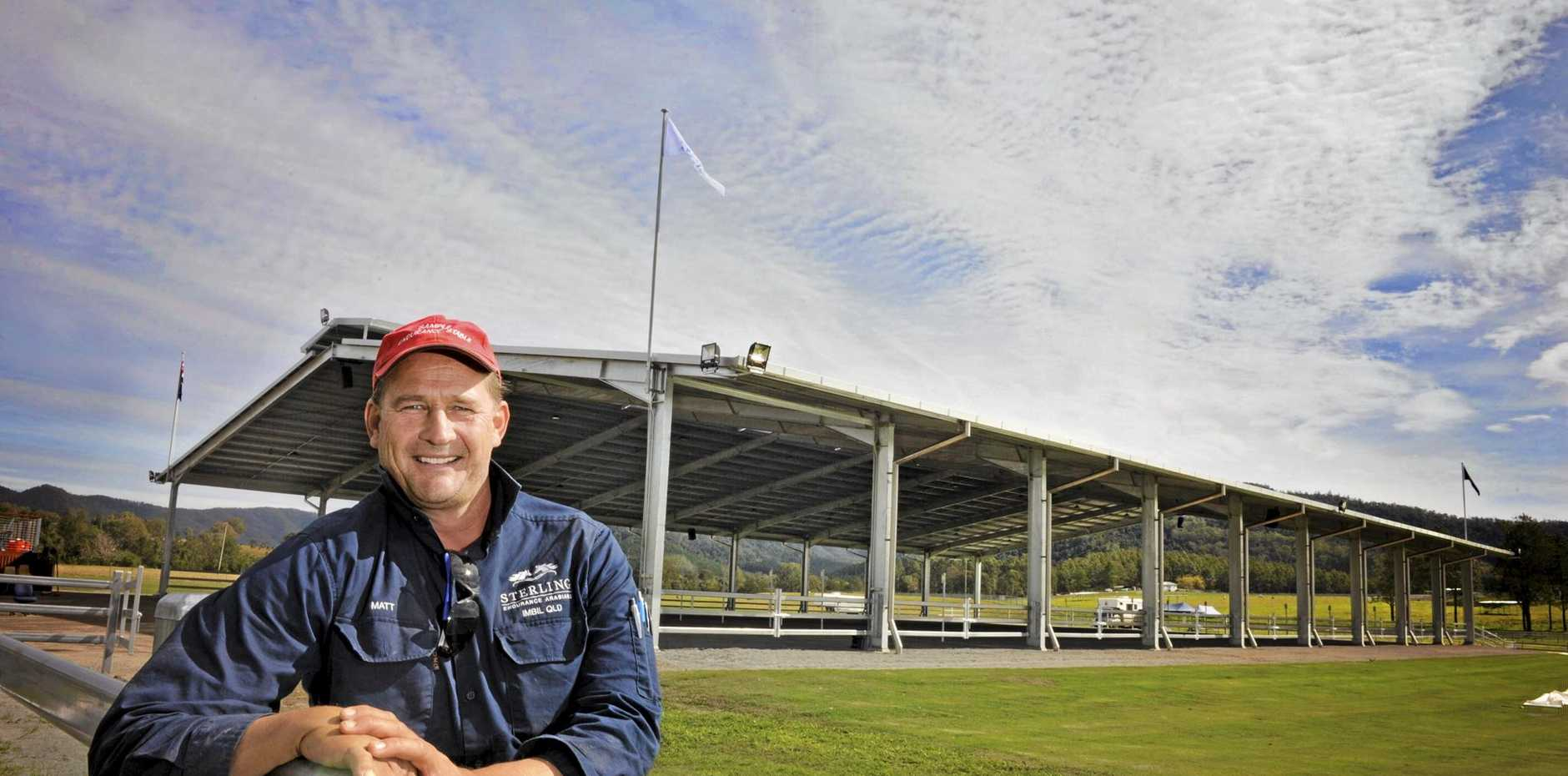 BIG PLANS: This weekend's internationally accredited endurance horse ride in the Imbil-Kenilworth forest is just a sample of the future, says Matthew Sample.
