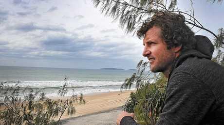 Epic Ocean Adventures tour guide Tyron van Santen after whale encounter off Double Island Point .